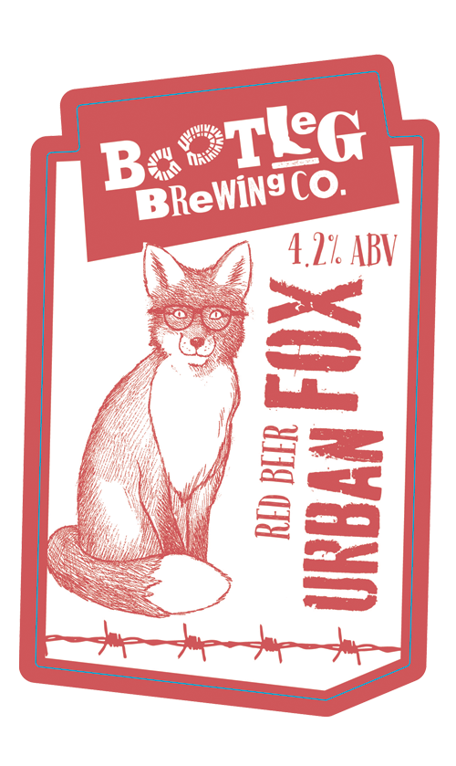 Bootleg Brewing Co, Urban Fox Beer